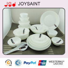 O mais novo Design Coupe Shape Porcelain Ceramic Dinnerware Set